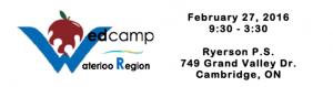 EdCampWaterlooRegion About Ed Camp Waterloo